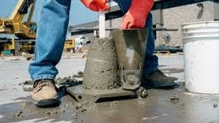 Download Civil Engineering Testing of Concrete - Slump Test Video