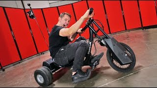 Download Electric Drifting Trike! | DOPE or NOPE?! Video