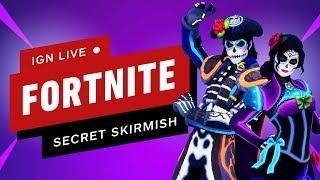 Download Fortnite Secret Skirmish (Day 2 - Solos) - IGN Live Video