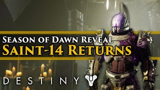 Download Destiny 2 Lore - Season of Dawn Reveal! Saint-14 Returns! The Shattered Timeline! New Lore! Video