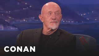 Download Jonathan Banks Asks Conan What He's Reading Lately - CONAN on TBS Video