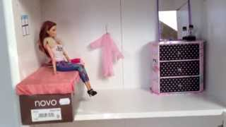 Download My Homemade Barbie Doll house Video