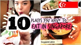 Download Trying 10 Places You Have to Eat in Singapore! Video