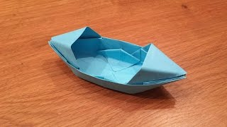 Download How To Make a Paper Boat That Floats - Origami Video