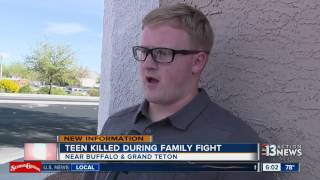 Download Best friend remembers teen killed in family fight Video
