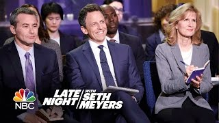 Download Late Night White House Press Briefing Video