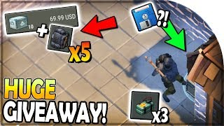 Download *HUGE* TACTICAL BACKPACK, CRATE GIVEAWAY + 3x C4 RAID (FLOPPY DISK?!) - Last Day on Earth Survival Video