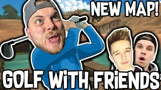 Download CRAZY NEW 'ANCIENT' MAP!! - GOLF WITH FRIENDS! W/Ash & James Video