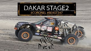 Download Stage 2 Dakar; tough challenge for Coronel in the dunes of Peru, 2018 Video