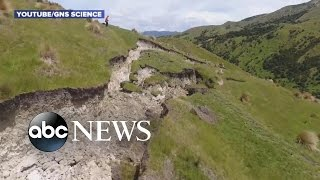 Download New Zealand Earthquake Impact Drone Video Video