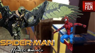 Download Spider-Man VS The Vulture Stop Motion (The Vulture Vengeance) Video