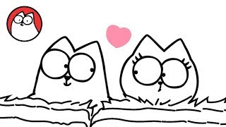 Download Head Over Heels (A Valentines Special) - Simon's Cat | BLACK & WHITE Video