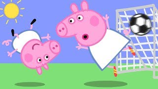 Download Peppa Pig English Episodes | Football with Peppa Pig! ⚽️ | Cartoons for Children Video