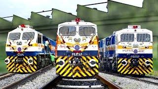 Download Brand New LOCOMOTIVE | 2000th EMD | KJM Diesel Shed | Indian Railways Video