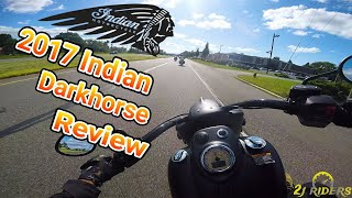 Download 2017 Indian Chief Dark Horse Review Video