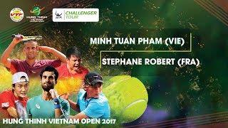 Download FULL | Minh Tuan PHAM (0 - 2) Stephane ROBERT | VÒNG 1 GIẢI QV QT HƯNG THỊNH VIETNAM OPEN 2017 Video