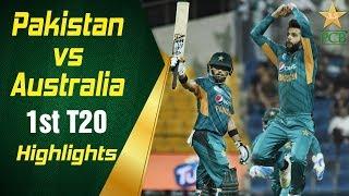 Download Pakistan Vs Australia 2018 | 1st T20I | Highlights | PCB Video