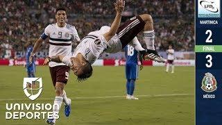 Download Martinica 2-3 México - GOLES Y RESUMEN - Grupo A - Copa Oro Video
