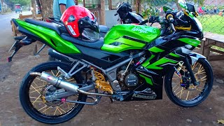 Download MODIFIKASI NINJA RR 150 TAHUN 2015,,BESERTA RIVIEW MODIFIKASI.. Video