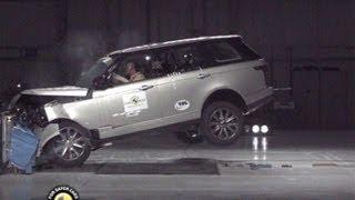Download Range Rover (2013) CRASH TEST Video