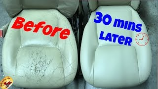 Download How To Repair The NASTIEST Leather & Vinyl....Back To PERFECT! Video