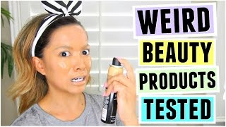 Download Weird Beauty Products TESTED! Video