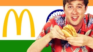 Download Americans Try Indian McDonald's Video