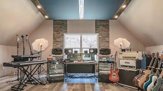 Download EPIC Home Studio Build (studio tour) Video