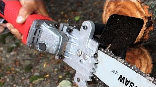 Download Grinder Hack how to make chain saw Video
