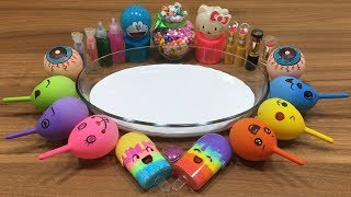 Download MIXING RANDOM THINGS INTO FLUFFY SLIME!! RELAXING SLIME WITH FUNNY BALLOONS Video