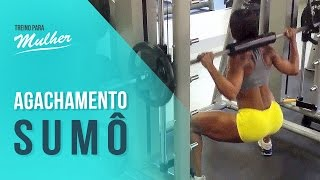 Download Treino com Denise Rodrigues: Como fazer agachamento sumo Video