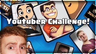 Download YouTuber Challenge! Legendary Chest Prize | Clash Royale 🍞 Video