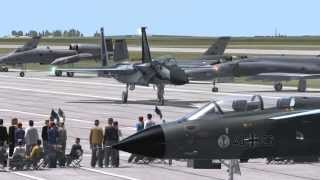 Download DCS Airshow Scenery - F-15 Taxi Out + Take Off Video
