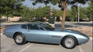 Download The Original Maserati Ghibli Proves Maserati Was Once Great Video