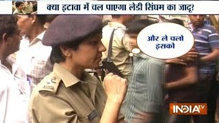 Download Watch Dabangg Lady IPS Officer Manjil Saini on 'Operation Clean' in Etawah Video