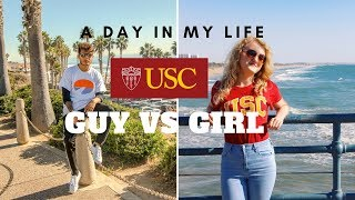 Download A DAY IN MY LIFE @ USC | Guy vs Girl Video