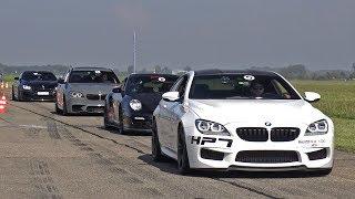Download 800HP BMW M6 F13 HPT with Dähler Exhaust! Revs & Drag Race! Video