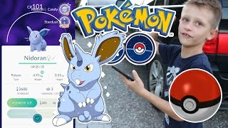Download EPIC POKEMON GO! - Catching Nidoran Video