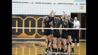 Download Volleyball vs Siena Heights 8/28/18 Video