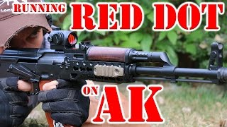 Download Running AK with Red Dot - 7.62x39 Video
