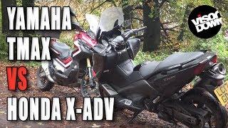 Download Yamaha TMAX vs Honda X-ADV   Visordown road test Video