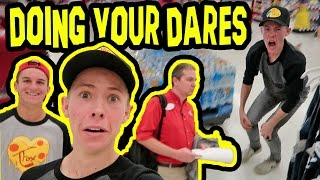 Download DOING YOUR DARES IN TARGET! (KICKED OUT) Video
