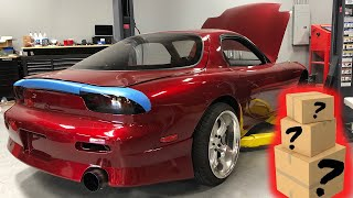 Download UNBOXING SUPER RARE NEW OEM PARTS FOR THE FD RX-7! Video