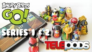Download Angry Birds Go! Telepods Series 1 & 2 - teleport the toy cars into the game!!! Video