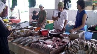 Download Malaysia / Borneo-Sarawak - Miri City ″Tua Pek Kong Temple, Fishmarket ...″ Video