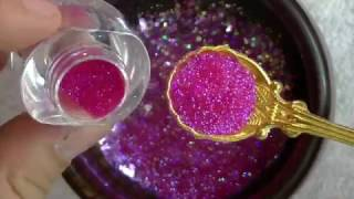 Download Mi mezcla de glitters Princesa / Diseño romántico de uñas /febrero 2017/ Luliz nails Video