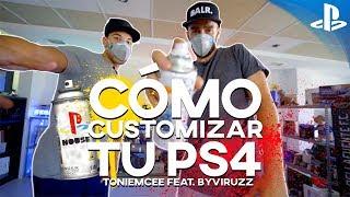 Download CÓMO PINTAR UNA PS4 (con ByViruZz) | #PlayStationHouse Video
