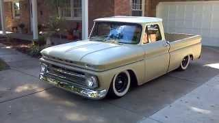 Download 1964 C10 Chevy pickup bagged Video