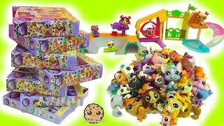 Download LPS Super Haul Littlest Pet Shop Box Sets - Skate Park & Bobblehead Family Pets Video