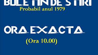 Download Buletin de ştiri Radio Bucureşti România 1979, ora 10 Video
